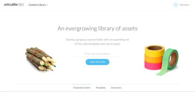 Articulate 360 Content Library