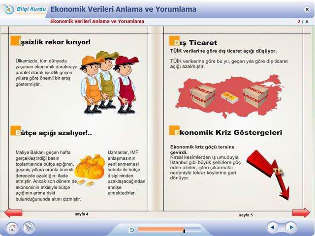 E-Öğrenme Tasarımında Arayüz ve Raporlama Dizaynı